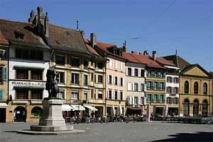 Pose de dalles de moquette à Yverdon-les-Bains