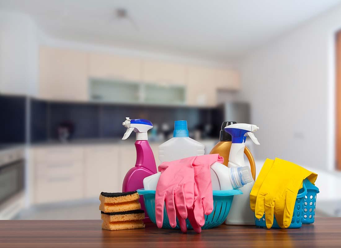 Du materiel de ménage