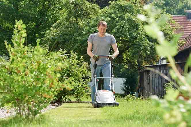 Tondre la pelouse