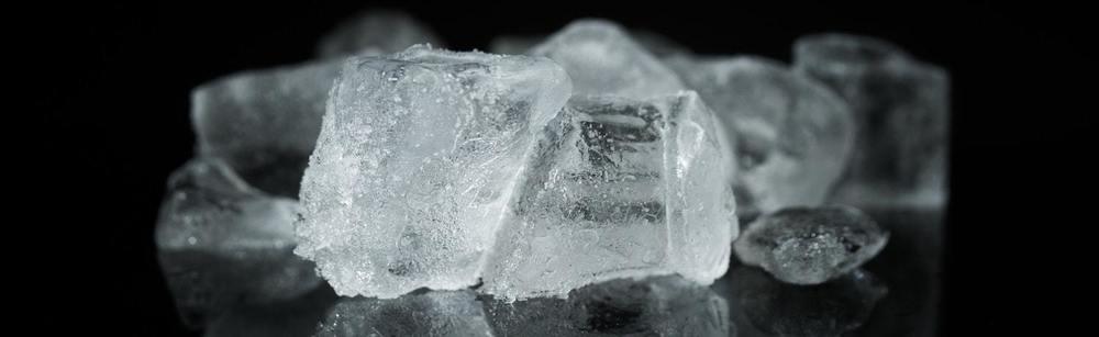 des cristaux de soude