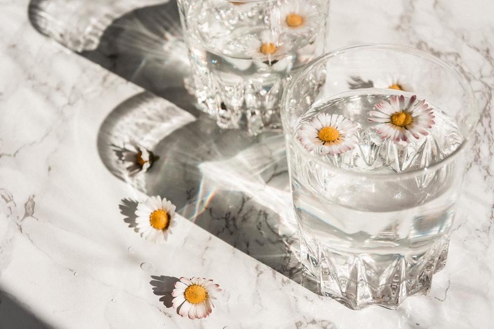 Un verre en crystal