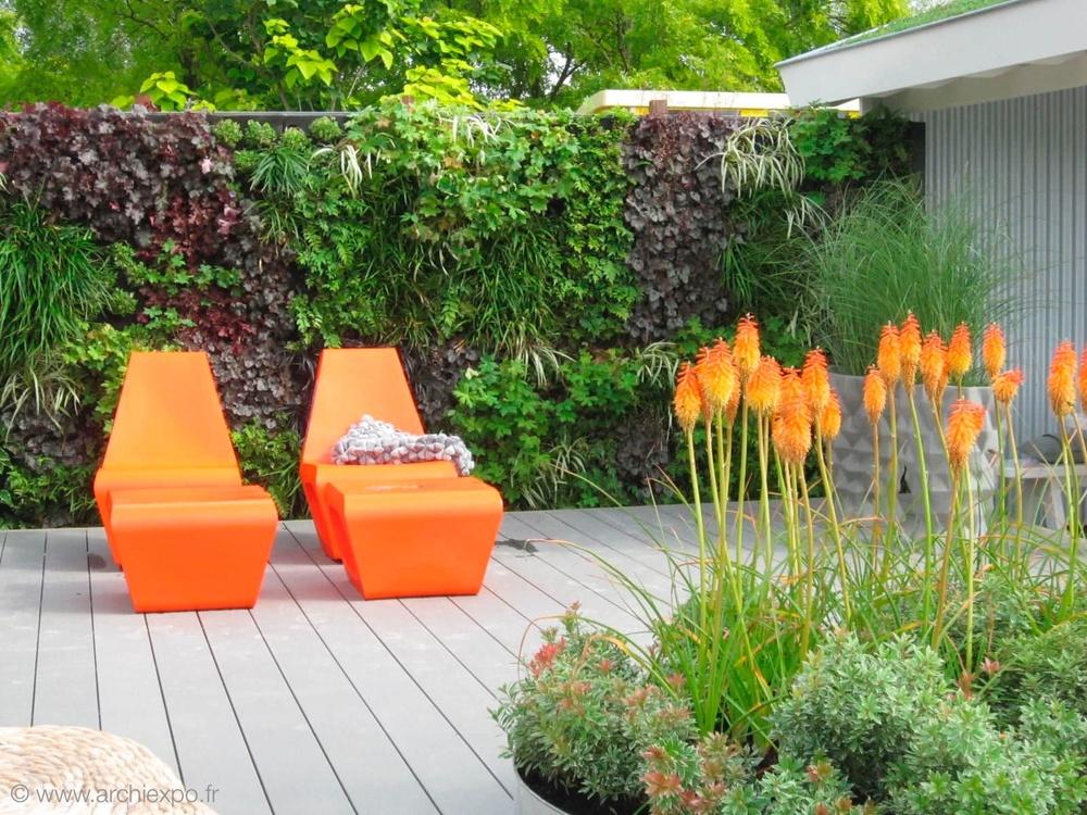 Id es tendances pour d corer vos murs ext rieurs blog Construire mur vegetal exterieur conseils