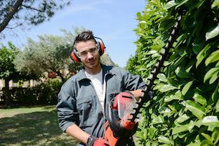 jardinier taille de haie