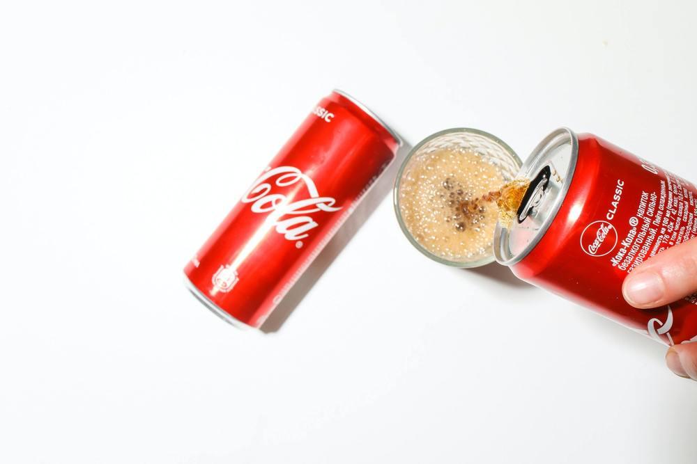 Du coca cola pour retirer du sang
