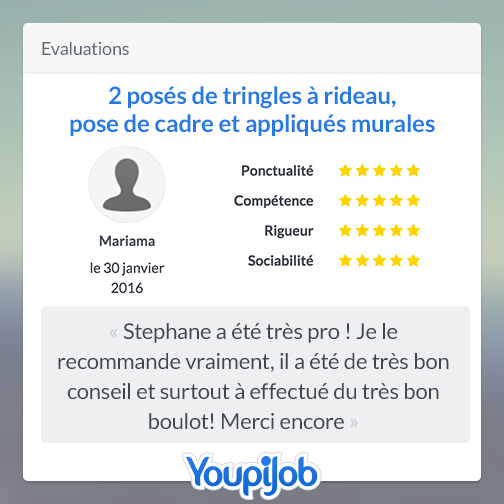 Evaluation Stéphane