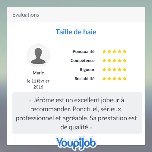 Evaluations sur YopiJob