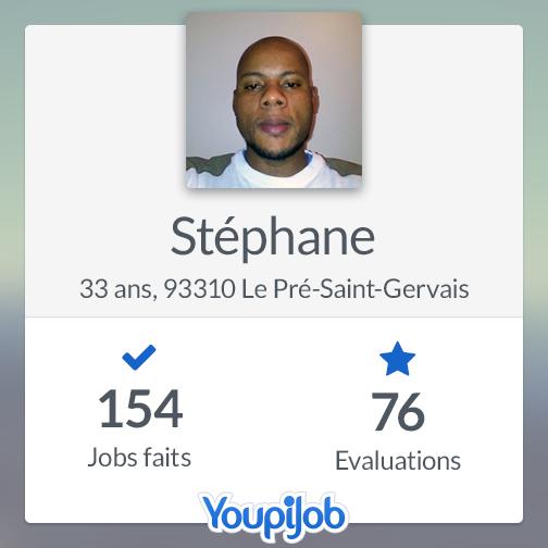 Stéphane, top Jobeur sur YoupiJob