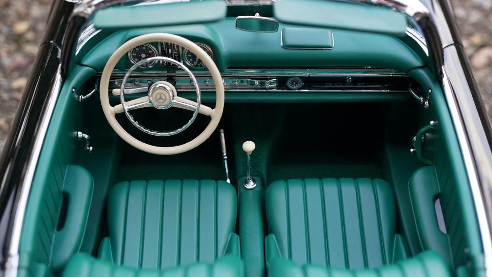 Des sièges de voiture bien nettoyés