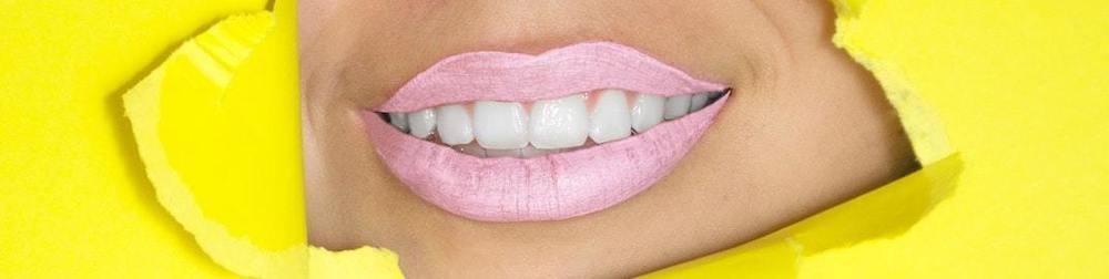 des dents blanches