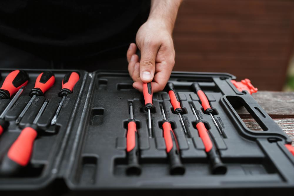 une boite à outils Ikea